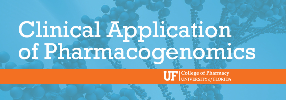 Consultant Course: Clinical Applications of Pharmacogenomics ...